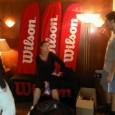 Înscrisă în calificările Australian Open, Liana Balaci Ungur a trecut pe la standul Wilson de la Melbourne pentru a-şi ridica echipamentul de joc. În această fotografie, pusă la dispoziţie de...
