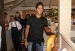 Fernando Verdasco în restauranti