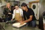 Fernando Verdasco şi Elena Vesnina în bucătărie