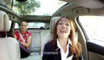 VIDEO: Anastasia Pavliucenkova cântă karaoke în taxiul care o plimbă prin Paris