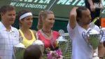 VIDEO: Steffi Graf, Julia Goerges, Henri Leconte şi Evgheni Kafelnikov, într-un meci demonstrativ de zile mari la Halle