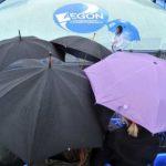 Ploaia a pus stăpânire pe Queens