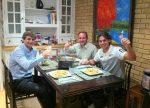 FOTO: Rafael Nadal la cina de San Juan împreună cu prietenii
