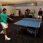 Tsonga şi Andy Murray au jucat ping pong la Queens