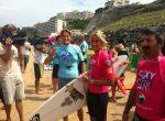FOTOGALERIE: Amelie Mauresmo a făcut surf în scop caritabil