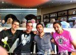 FOTO: Cei patru sârbi care vor sări din avion dacă vor câştiga din nou Cupa Davis!