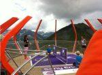 POZA ZILEI, 12 iulie 2011: Julia Goerges a jucat tenis în vârf de munte