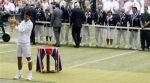 Novak Djokovic cu trofeul de la Wimbledon