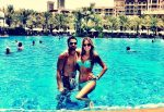 FOTO: Janko Tipsarevic cu soţia în piscină la Dubai