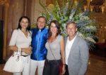 FOTO: Ilie Năstase, împreună cu Nadia Comăneci la concertul Eagles din Monaco