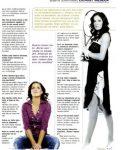 Bojana Jovanovski în paginile revistei
