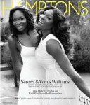 Venus şi Serena Williams pe coperta revistei Hamptons