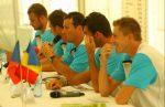 Echipa Romaniei la conferinta de presa (foto: Adevarul)