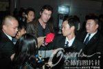 Marat Safin la sosirea in Beijing