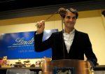 FOTO: Roger Federer a făcut ciocolată la Lindt!
