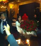 POZA ZILEI, 12 noiembrie 2012: Ilie Năstase la ziua Nadiei Comăneci, la Londra