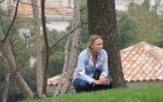 """FOTOGALERIE: Caroline Wozniacki îşi urmăreşte din """"tribune"""" iubitul, pe Rory McIlroy"""