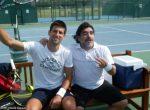 FOTOGALERIE: Novak Djokovic s-a antrenat împreună cu Maradona azi, la Abu Dhabi