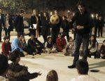 FOTOGALERIE: Imagini cu Rafael Nadal în mijlocul copiilor străzii din Barcelona