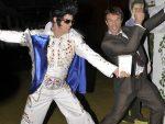 Pat Cash si sosia lui Elvis la balul Hopman Cup