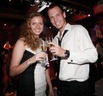 Petra Kvitova şi Jan Berdych la balul Hopman Cup