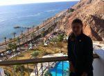 Fed Cup – FOTO: Irina Begu şi peisajul superb pe care îl vede în fiecare dimineaţă la Eilat
