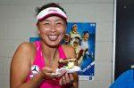 FOTO: Peng Shuai a primit o prăjitură de ziua ei la Sydney