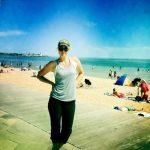FOTO: Maria Sharapova pe plajă, la Melbourne