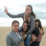 Ioana Rosca, Irina Bara, Ilka Csoregi si Elena Cadar la Melbourne
