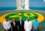 VIDEO: Cum se distrează la Dubai primii 3 favoriţi: se joacă la înălţime