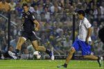 POZA ZILEI, 5 februarie 2012: Juan Martin del Potro a jucat fotbal la retragerea lui Martin Palermo
