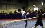 Gael Monfils la tenis cu piciorul