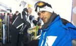 Novak Djokovic la schi in statiunea Kapaonik
