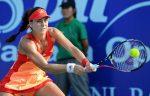 FOTOGALERIE: Imagini cu Sorana Cîrstea în semifinala pierdută la Pattaya