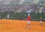 POZA ZILEI, 4 aprilie 2012: 300 de copii au asistat la antrenamentul echipei de Cupa Davis a Argentinei