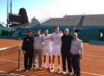 FOTO: Novak Djokovic s-a antrenat cu Milos Raonic la Monte Carlo