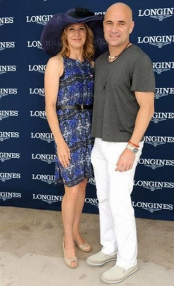 FOTO: Andre Agassi şi Steffi Graf, la derby-ul de la Kentucky