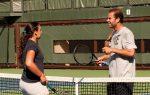 POZA ZILEI, 12 iulie 2012: Marion Bartoli s-a antrenat împreună cu Pete Sampras la Stanford