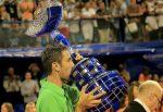 FOTO: Marin Cilic cu trofeul imens cucerit la Umag