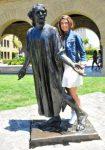 Sorana Cirstea la Stanford