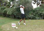 Rafael Nadal la Campionatul de golf al Balearelor