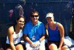 FOTO: Andrei Pavel, alături de eleva lui, Tamira Paszek, la US Open