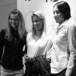Safarova, Hlavackova si Srebotnik la player party in Tokyo