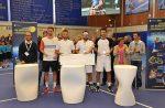 FOTO: Florin Mergea și Phillip Marx cu trofeul cucerit la Rennes