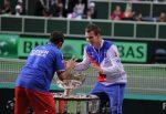 Stepanek si Berdych alaturi de Cupa pe care au adus-o in Cehia