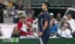 VIDEO: Novak Djokovic a imitat-o pe Serena Williams în demonstrativul de la Bratislava