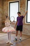 Milos Raonic si balerina Clare Morehan
