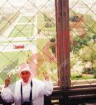 Sorana Cirstea la 8 ani, la Paris, primul turneu international