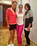 FOTO: Sorana Cîrstea, alături de Ana Ivanovic şi Maria Kirilenko la tragerea la sorţi de la Pattaya