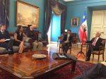 FOTOGALERIE: Rafael Nadal a fost primit de președintele statului Chile, Pinera